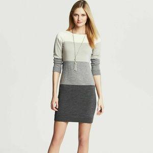 BANANA REPUBLIC Sweater Dress Italian Merino Wool